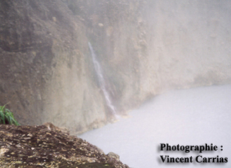 Les fiches volcans : Boiling Lake